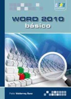 Descargar WORD 2010: BASICO gratis pdf - leer online