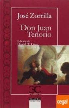 Descargar libro gratis en ingles DON JUAN TENORIO de JOSE ZORRILLA 9788497407106 ePub DJVU