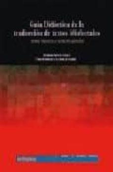 Titantitan.mx Guia Didactica De La Traduccion De Textos Idiolectales (Texto Lit Erario Y Texto De Opinion) Image