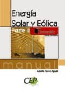 Cdaea.es Manual Energia Solar Y Eolica. Parte Ii. Formacion Image