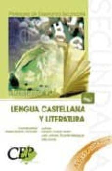 Geekmag.es Cuerpo De Profesores De Enseñanza Secundaria. Lengua Castellana Y Literatura (Vol. I) Image
