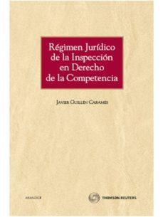 Viamistica.es Regimen Juridico De La Inspeccion En Derecho De La Competencia Image