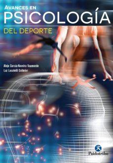 avances en psicología del deporte (ebook)-alejo garcia-naveira vaamonde-luz locatelli dalimier-9788499106106