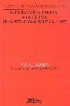 introduccion general a la critica de la economia politica / 1857-karl marx-9789682315206