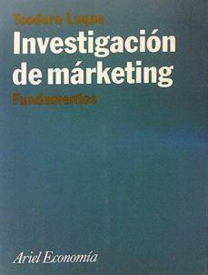 INVESTIGACIÓN DE MÁRKETING - TEODORO LUQUE |