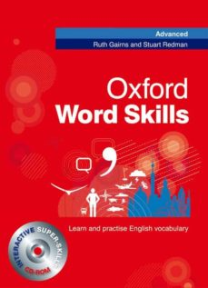 oxford word skills advanced student s book with cd-rom-r gairns-s. redman-9780194620116