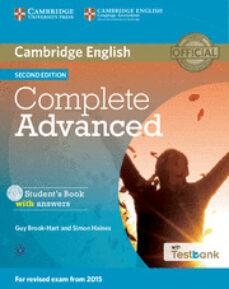 IPad atrapado descargando libro COMPLETE ADVANCED STUDENT S BOOK WITH ANSWERS WITH CD-ROM WITH TESTBANK de  en español CHM 9781107501416