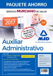 Titantitan.mx Paquete Ahorro Auxiliar Administrativo Del Servicio Murciano De Salud. (Incluye Temario Parte General Y Test; Image