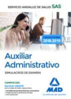 Permacultivo.es Auxiliar Administrativo Del Servicio Andaluz De Salud. Simulacros De Examen Image