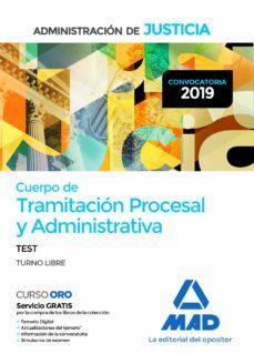 Inmaswan.es Cuerpo De Tramitacion Procesal Y Administrativade La Administracion De Justicia (Turno Libre): Test Image