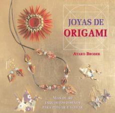 joyas de origami-ayako brodek-9788415053316