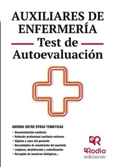 auxiliares de enfermeria. test de autoevaluacion-9788416266616