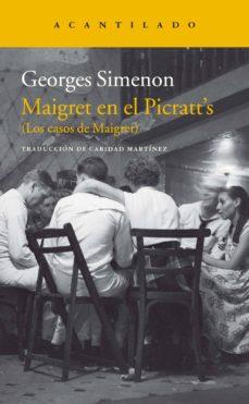 Audiolibros en francés de descarga gratuita. MAIGRET EN EL PICRATT S de GEORGES SIMENON