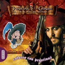 Eldeportedealbacete.es Piratas Del Caribe: En El Fin Del Mundo. Coloreo Con Pegatinas Image