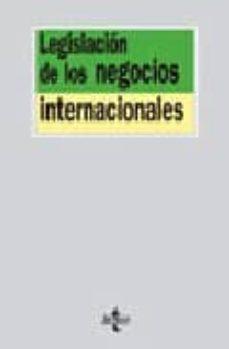 Vinisenzatrucco.it Legislacion De Los Negocios Internacionales Image