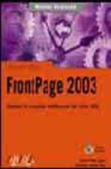 Debatecd.mx Frontpage 2003 (Manuales Avanzados) (Incluye Cd-rom) Image