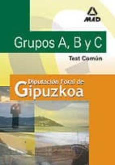 Permacultivo.es Grupos A, B Y C De La Diputacion Foral De Guipuzcoa: Test Comun Image