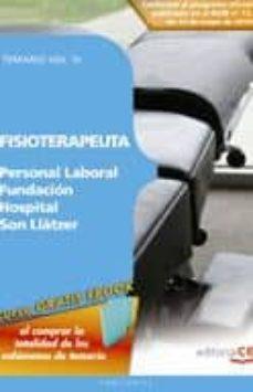Lofficielhommes.es Fisioterapeuta Personal Laboral Fundacion Hospital Son Llatzer: T Emario (Vol. Iii) Image