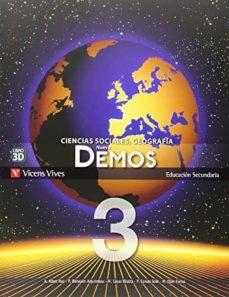 Debatecd.mx Nuevo Demos 3 Libro Y Separata La Rioja Image