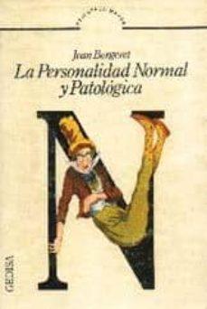 la personalidad normal y patologica-jean bergeret-9788474320916