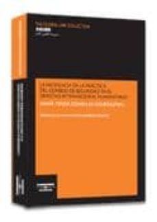 Descargar INCIDENCIA PRACTICA DEL CONSEJO SEGURIDAD EN DERECHO gratis pdf - leer online