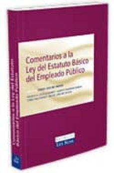 Geekmag.es Comentarios A La Ley Del Estatuto Basico Del Empleado Publico (2ª Ed.) Image
