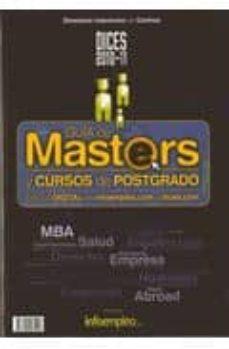 Permacultivo.es Dices 2010-11: Guia De Masters Y Cursos De Postgrado Image