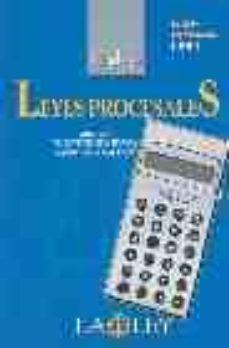 Concursopiedraspreciosas.es Codigo Leyes Procesales (Ed. 2004) (Incluye Cd-rom) Image