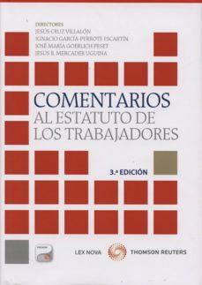 Inmaswan.es Comentarios Al Estatuto De Los Trabajadores (3ª Ed.) Image