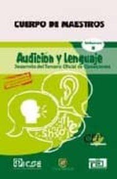 Inmaswan.es Cuerpo De Maestros Audicion Y Lenguaje Vol. Ii: Edicion Para Cana Rias Image