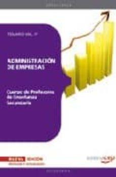 Mrnice.mx Cuerpo De Profesores De Enseñanza Secundaria. Administracion De E Mpresas (Ade). Temario Vol. Iv. Image