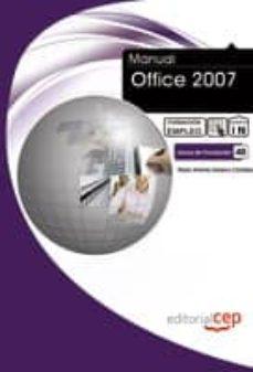 Encuentroelemadrid.es Manual Office 2007. Formacion Para El Empleo Image