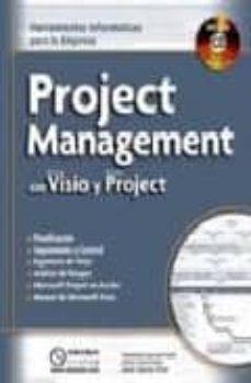 Inmaswan.es Project Management Con Microsoft Visio Y Microsoft Project: Herra Mientas Informaticas Paa La Empresa (Incluye Cd) Image