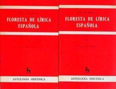 Curiouscongress.es Floresta De Lírica Española 1 Y 2 Image