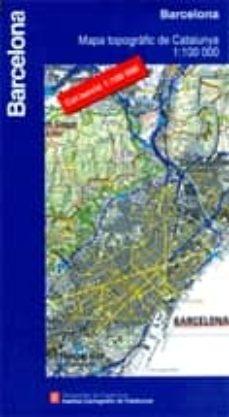 Javiercoterillo.es Barcelona (1:100000) (Mapa Topografic) Image