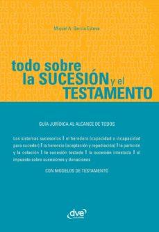 todo sobre la sucesión y el testamento (ebook)-miguel a. garcia esteve-9781644615126