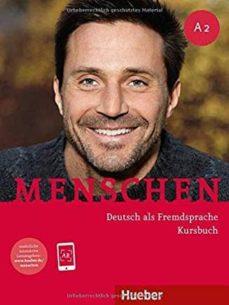 Descargar ebooks para j2ee MENSCHEN A2. KURSBUCH MIT DVD-ROM: DEUTSCH ALS FREMDSPRACHE 9783192119026 de  (Spanish Edition)