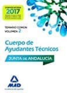 Javiercoterillo.es Cuerpo De Ayudantes Técnicos De La Junta De Andalucía. Temario Común Volumen 2 Image
