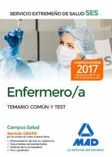 enfermero/a del servicio extremeño de salud (ses). temario comun y test-9788414210826