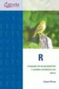 r. lenguaje de programacion y analisis estadistico de datos-cesar perez-9788416228126