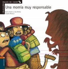 una momia muy responsable-rocio anton-lola nuñez-9788426351326
