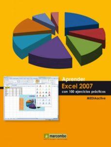 aprender excel 2007 con 100 ejercicios prácticos (ebook)-9788426716026