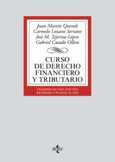 curso de derecho financiero y tributario (28ª ed.)-9788430972326