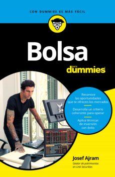 Descargar BOLSA PARA DUMMIES gratis pdf - leer online