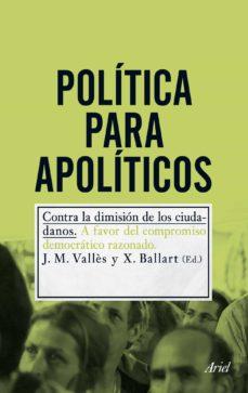 politica para apoliticos-j.m. valles-x. ballart-9788434400726