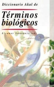 diccionario akal de terminos biologicos-9788446015826