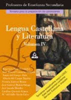 Titantitan.mx Lengua Castellana Y Literatura. Temario (Vol. 4) Image