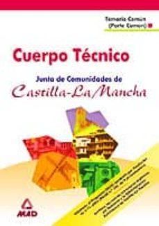 Eldeportedealbacete.es Cuerpo Tecnico De La Junta De Comunidades De Castilla La Mancha: Temario Comun (Parte Comun) Image