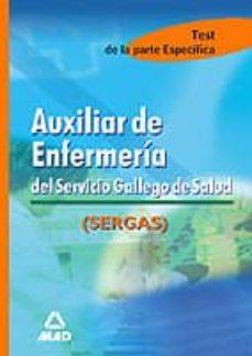 Eldeportedealbacete.es Auxiliar De Enfermeria Del Servicio Gallego De Salud. Test Materi As Especificas Image