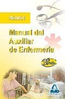 Manual Del Auxiliar De Enfermeria Modulo I 2ª Edicion Vv Aa Comprar Libro 9788467608526